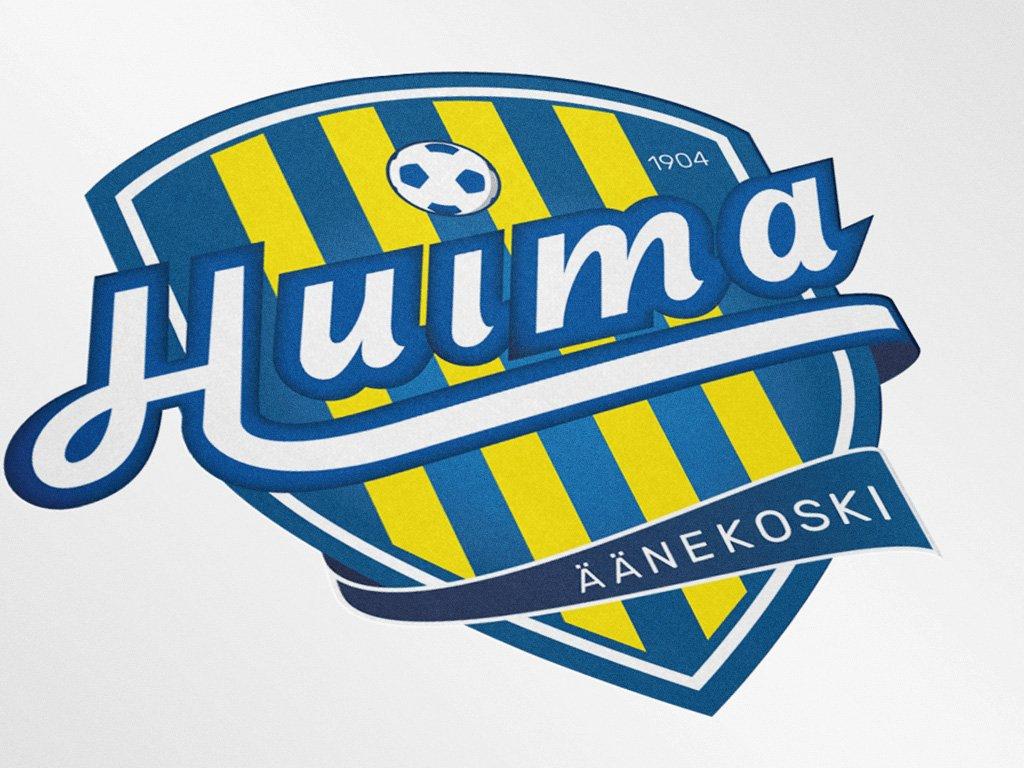 Graafinen suunnittelu, Logosuunnittelu, Äänekosken Huima juniorijalkapallo
