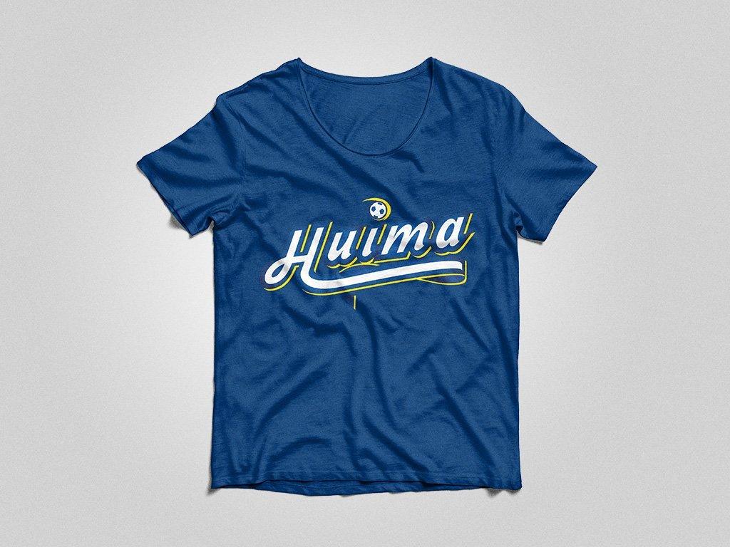Logosuunnittelu, Graafinen suunnittelu, Äänekosken Huima, Tekstilogo