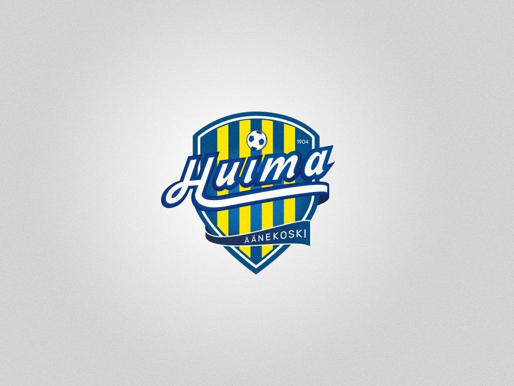 Logosuunnittelu, Graafinen suunnittelu, Äänekosken Huima, vaakunalogo