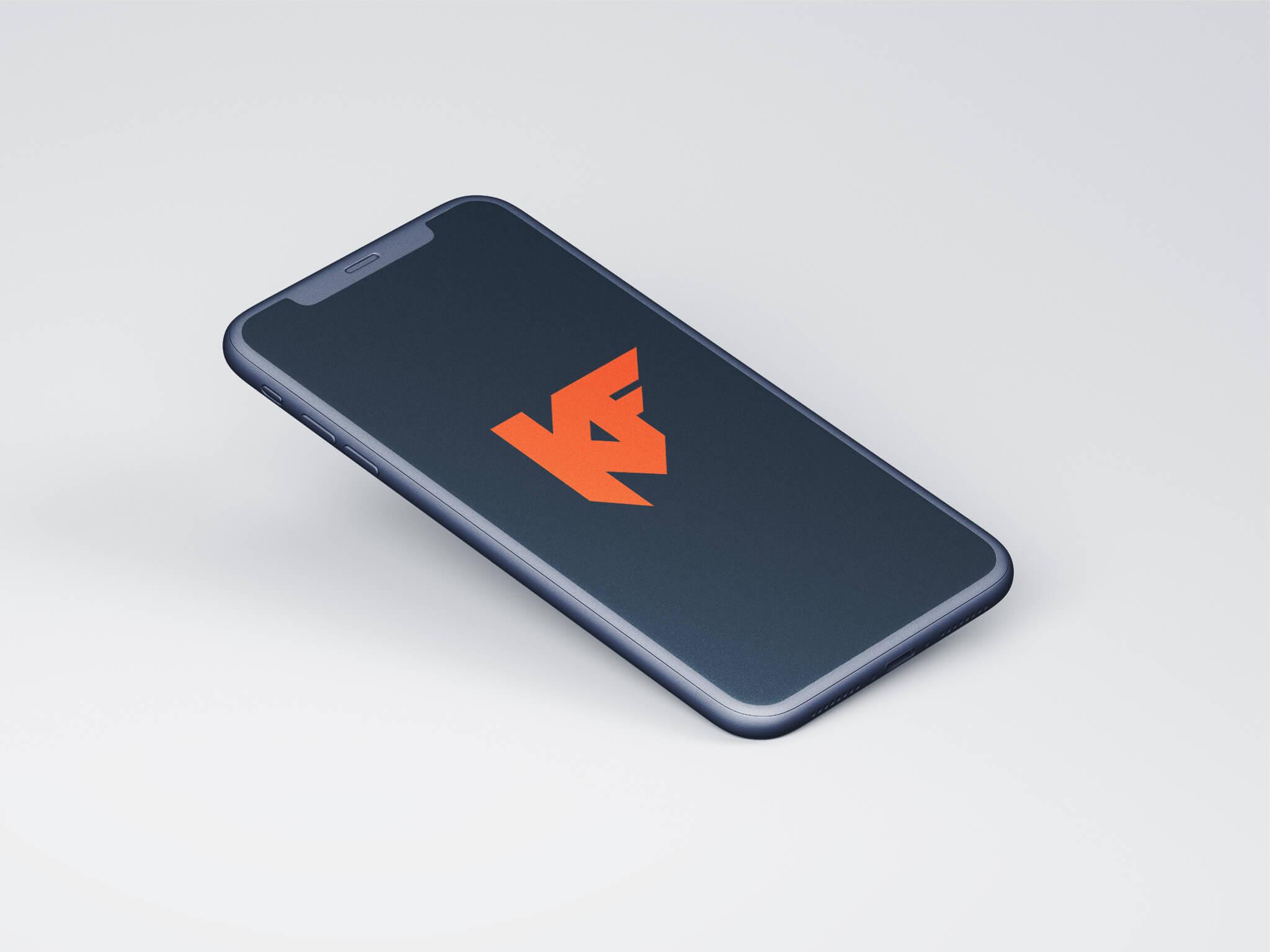logon suunnittelu-konsolifin-logo iphonessa