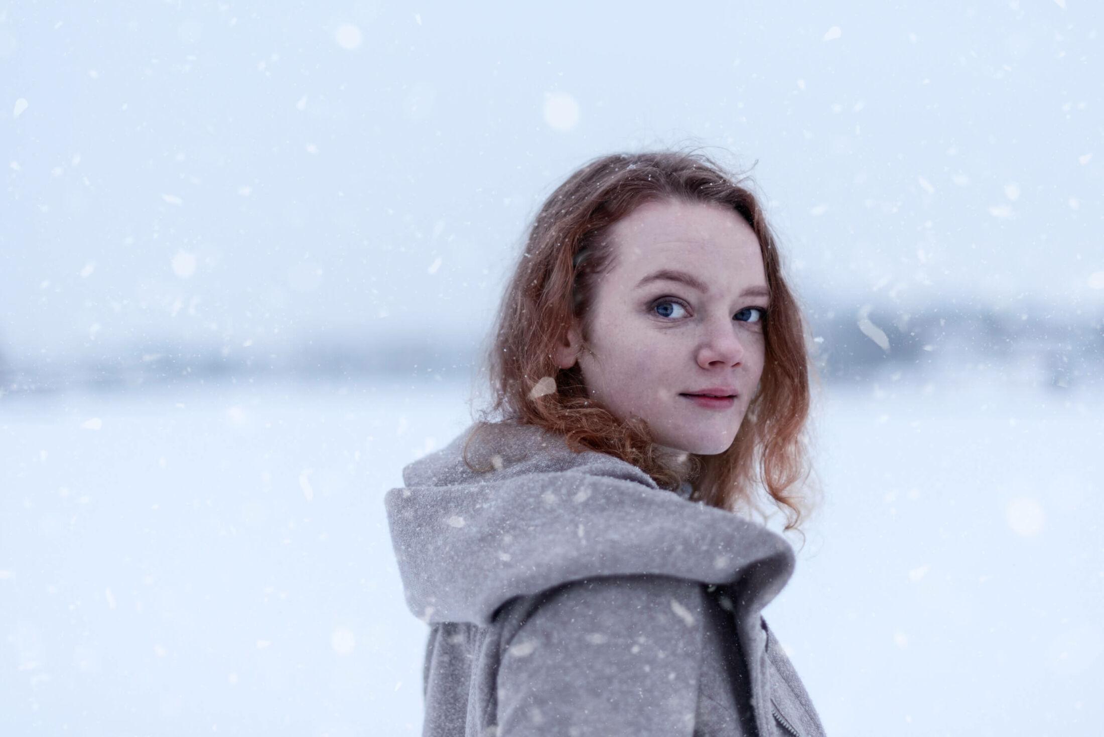 laura talvella jyväskylän satamassa