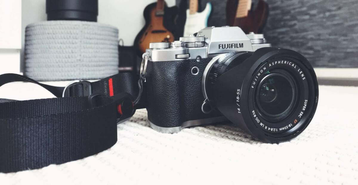 Järjestelmäkamera Fuji x-t3