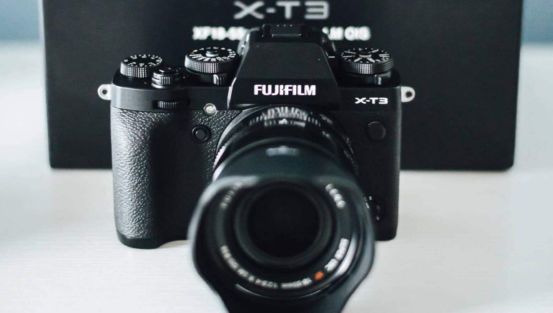 valokuvaus Fuji xt3